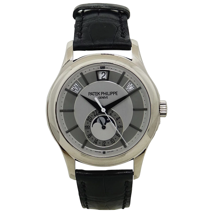 Patek Philippe White Gold Mens Complication 5205g 001 Watch