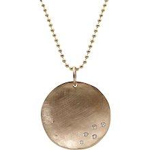Julez Bryant Rose Gold Concave Necklace