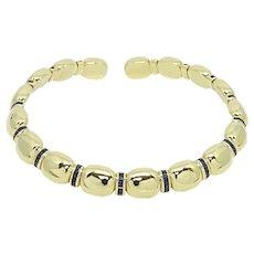 Faraone Mannella 18K Yellow Gold Choker
