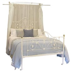 Mid Victorian Half Tester Bed