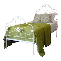 Mid-Victorian Single Cast Iron Bed