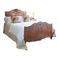Oak Provencale Bed