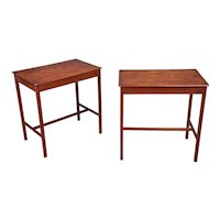 A Pair of Late 18th Century George III Mahogany Tables