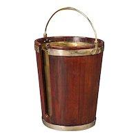 A Good George III Plate Bucket