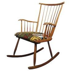 Arno Lambrecht 'WK-S 7', Rocking Chair, WKS Sozialwerk 1953