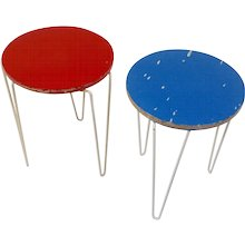Pair of stools, Florence Knoll 1953
