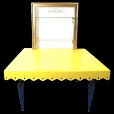 Matteo Thun Unikat Sculptural Table with Frame, 1986