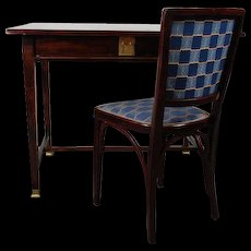 Gustav Siegel, Table and Chair 1910's