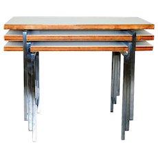Robert Haussmann, 'Nesting Tables', Swiss Design