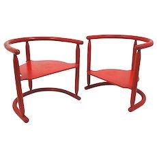 Two children chairs 'Anna', Karin Mobring 1963