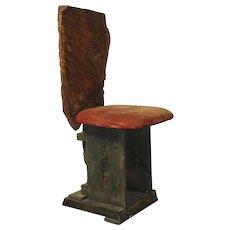 Dieter Zimmermann 'Sculptural Chair' 1991