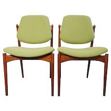 Arne Vodder 'two side chairs', Denmark 1960's