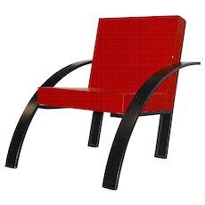 Aldo Rossi 'Parigi' armchair, 1989