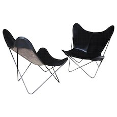Pair of 'Butterfly' chairs, Ferrari Hardoy, Kurchan and Bonet, 1938