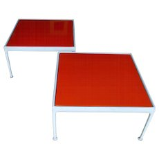 Pair of '3421' coffee tables, Richard Schultz, 1966