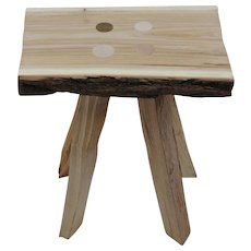 Andres Bally '18315' stool, unique piece, 2015
