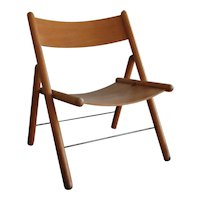 Otl Aicher 'folding chair' 1970's