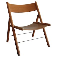 Otl Aicher 'folding chair' 1970's