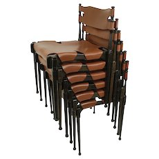 Frei Otto 'Montreal' set of six chairs, 1967