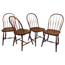 Josef Frank 'Mod. B 936' set of four chairs, Thonet 1920's