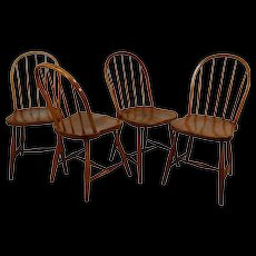 Josef Frank 'Mod. B 936' set of four chairs, Thonet 1920's