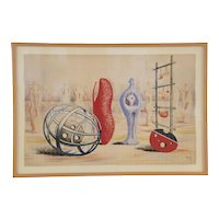 Henry Moore 'Sculptural Objects', School Prints Ltd. 1949