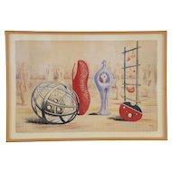Henry Moore 'Sculptural Objects', School Prints Ltd. 1949