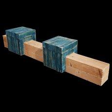 Christoph R. Siebrasse 'blaue Vorreiter', bench 1990