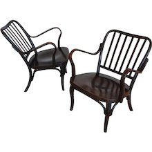 A pair of Josef Frank 'A 752' armchairs, 1929