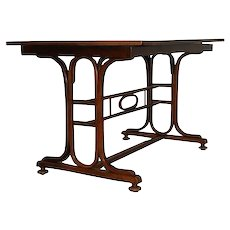 Jacob & Josef Kohn, Bentwood table, Vienna 1910