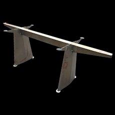 Jean Prouve 'Trapeze' Table, 1950