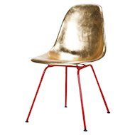 Hand Gilded Eames Side Chair