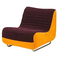 Rodney Kinsman F Range Lounge Chair 1970's