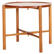 Hans Wegner Folding Table Teak & Oak 1950's