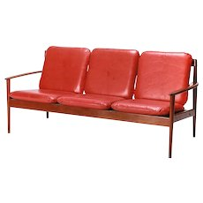 Early Grete Jalk Sofa Teak PJ 56/3 1950's