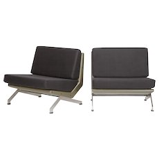 Pair of Gianni Moscatelli for Formanova Lounge Chairs 1969