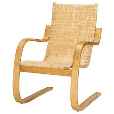 Alvar Aalto Lounge Chair 406 Artek 1960's