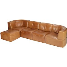 Swiss De Sede Modular Sofa DS-15 1970