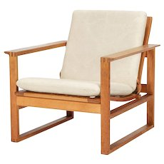 Borge Mogensen Lounge Chair 2256 Oak, 1956