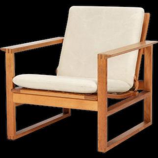 Borge Mogensen Lounge Chair 2256 Oak, 1956