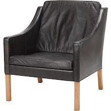 Borge Mogensen Lounge Chair 2207 for Fredericia, 1963