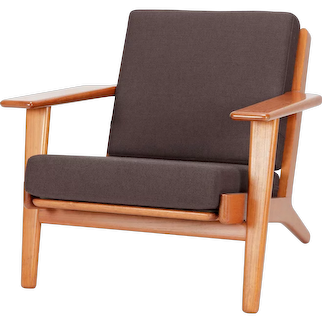 Hans Wegner Lounge Chair GE-290 Teak