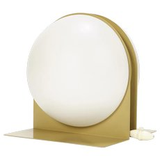 Ben Swildens Table Lamp for Verre Lumiere 1970