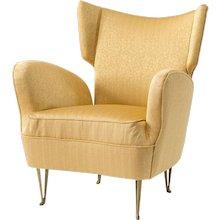 Elegant armchair by Isa Bergamo,1950