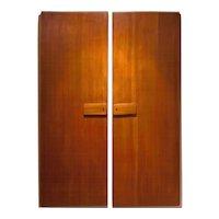 Pair of Gio Ponti Wardrobe Doors, 1955