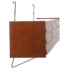 Sergio Conti, Marisa Forlani and Luciano Grassi Hanging Chest of Drawers
