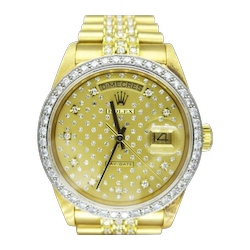 Rolex - Day Date -  Gold/Diamonds - Jubilee Bracelet - 18048