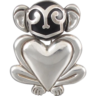 Hector Aguilar Monkey Pin