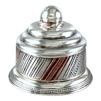 William Spratling Dresser Box Sterling Silver ~ Copper
