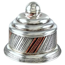 William Spratling Dresser Box Sterling Silver ~ Copper